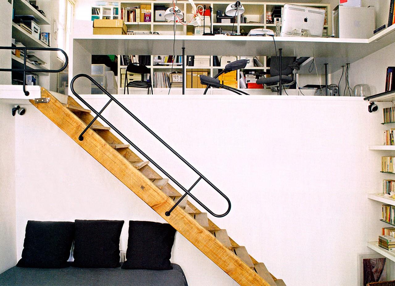 COLOMBE STEVENS Loft Paris 10
